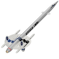 Semroc Flying Model Rocket Kit UFO Invader™ KV-91