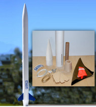 "Mad Cow Flying Model Rocket Kit 2.6"" Skipper(29mm)  K-3102"