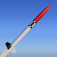 "Mad Cow Flying Model Rocket Kit 3"" Sport-X(38mm)  K3145"