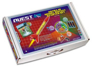 Quest Flying Model Rocket Starter Kit Astra III 1406 <Required to Pay for Parcel Select Shipping> **