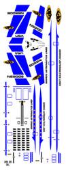 Semroc Decal - Orbital Transport™ Blue  SEM-DKV-66BL *