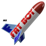 Semroc Flying Model Rocket Kit Micro(MX) Fat Boy™   KMX-08
