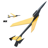 Semroc Flying Model Rocket Kit Micro(MX) Hawk™   KMX-11