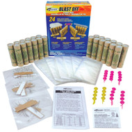 Estes Model Rocket Motor Flight Pack A-B-C 24 Motors Bulk  1672  <Required to Pay for Parcel Select Shipping> **
