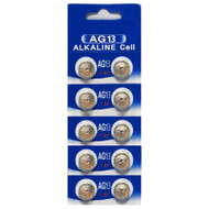 Battery Alkaline Cell AG13 / LR44 / 357 10pk