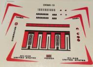 Semroc Decal - MX Cherokee™  SEM-DKMX-10 *