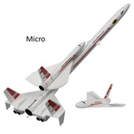 Semroc Flying Model Rocket Kit Micro(MX) Orbital Transport™  KMX-01