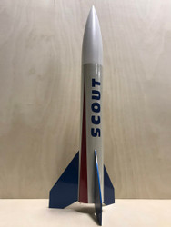 "LOC Precision Flying Model Rocket Kit 2.63"" Scout  PK-Scout"