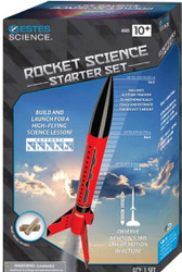 Estes Flying Model Rocket Launch Set Rocket Science with Motors  5302 ** <Required to Pay for Parcel Select Shipping>
