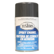 Testors 1253 Graphite Gray Metallic 3 oz. Spray Paint **