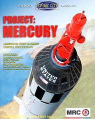 MRC Plastic Model Project Mercury  MRC 62001 **