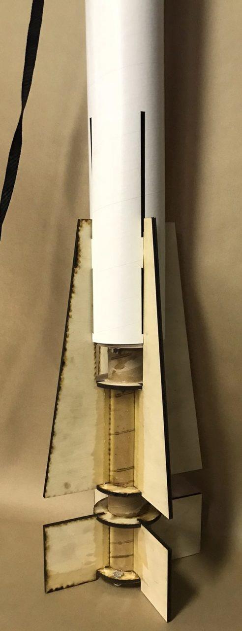 LOC Precision Flying Model Rocket Kit 4