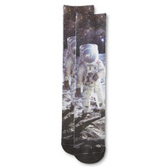 Joe Boxer Men's Socks - Armstrong & Aldrin on the Moon  JB 01