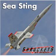 Shrockets Flying Model Rocket Kit Sea Sting  SHR 05151