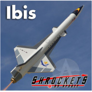 Shrockets Flying Model Rocket Kit Ibis  SHR 05152