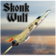 Shrockets Flying Model Rocket Kit Skonk Wulf  SHR 05153