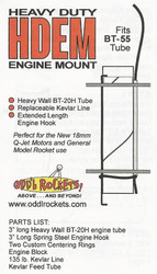 Odd'l Rockets Heavy Duty Engine Mount for BT-55  ODD HDEM55