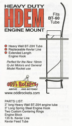 Odd'l Rockets Heavy Duty Engine Mount for BT-60  ODD HDEM60