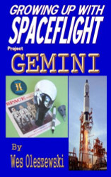 Book Growing up with Spaceflight, Project Gemini, by Wes Oleszewski
