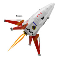 Semroc Flying Model Rocket Kit Micro(MX) Mars Lander™   KMX-02