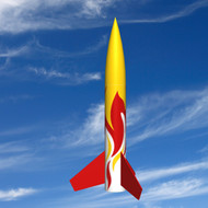 "Mad Cow Flying Model Rocket Kit 1.6"" Mini Squat(24mm)  K-3190"