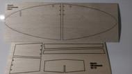 Semroc Laser-Cut Fins USS Andromeda™ (Sheet A/B  3/32 Balsa)   SEM-FV-97 *