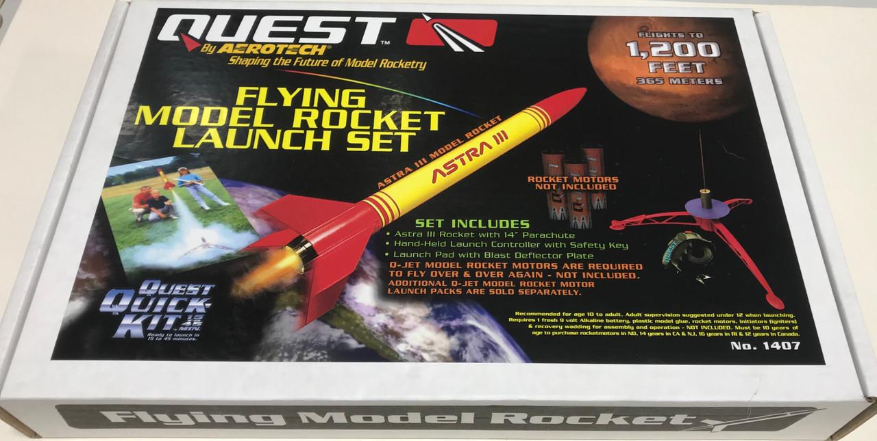 Models & Kits NO MOTORS INCLUDED Quest Flying Model Rocket