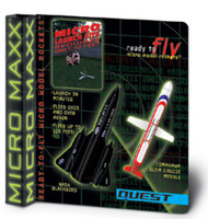 Quest Flying Model Rocket Kit MX NASA Blackbird & Tomahawk Cruise Missile 5641