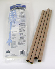 Estes Flying Model Rocket Part Body Tubes BT-20(4pk)  3085 **