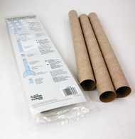Estes Flying Model Rocket Part Body Tubes BT-60(3pk)  3089 **