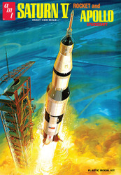 AMT Plastic Model Saturn V 1/200 Scale  AMT 1174 **