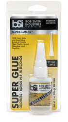 BSI 139H Cyanoacrylate(CA) Super Glue 3/4oz Gap Filling Pocket - Gold Label