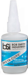 BSI 132 Cyanoacrylate(CA) Super Glue 4oz Super Thin Pocket - Blue Label**