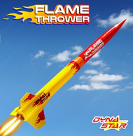 Dynastar Flying Model Rocket Kit Flame Thrower DYN 5047