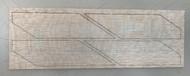 Semroc Laser-Cut Fins Estes 1943 Magician or Estes 2025 Meteor(4 fins)3/32 Balsa  SEM-FES-1943 *