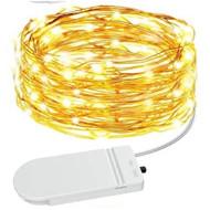 eRockets Mini LED String Lights 7ft Waterproof  Warm White/Yellow  ERO 9120