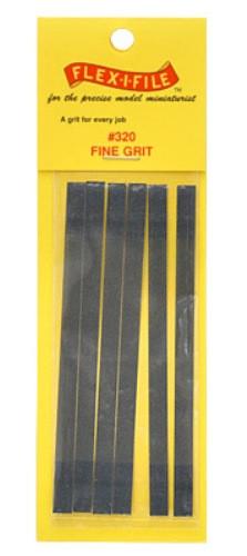 Flex I File 0320 Refill Sanding Tape 320 Grit Grey
