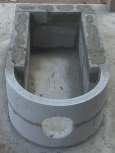 Rocket heater barrel build - w/ frame