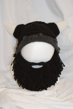 BARBARIAN LOOTER BEARD HEAD BLACK