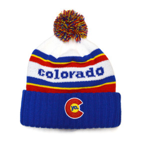 COLORADO FLAG BEANIES 46fab3440