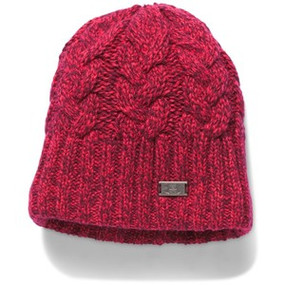 UA AROUND TOWN BEANIE KNO/MAR/MPT