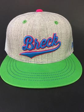 BRECK CURSIVE CAP