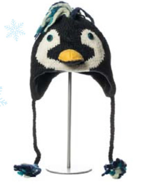 ROCK HOPPER PENGUIN HAT ADULT