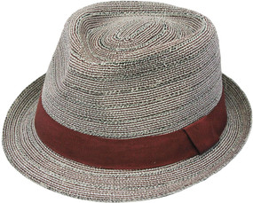 BRAIDED FEDORA