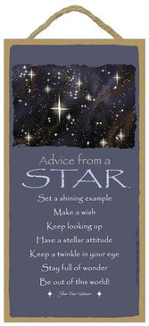 ADVICE FROM A STAR