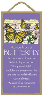 ADVICE FROM BUTTERFLY