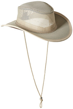 MESH OUTBACK HAT CLAY