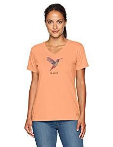 WOMENS V HUMMINGBIRD ENGRAVED II