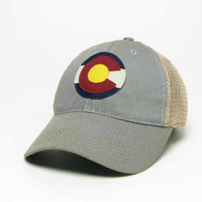 CO FLAG LOGO OFA TRUCKER