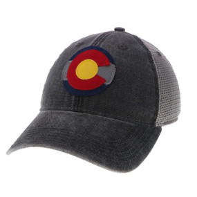 CO FLAG LOGO DTA TRUCKER X (25139)